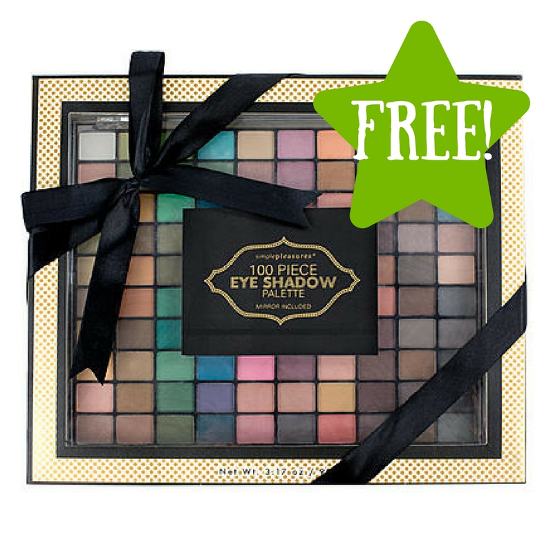 Sears: FREE Tri-Coastal 100-Pc. Eye Shadow Palette After Points