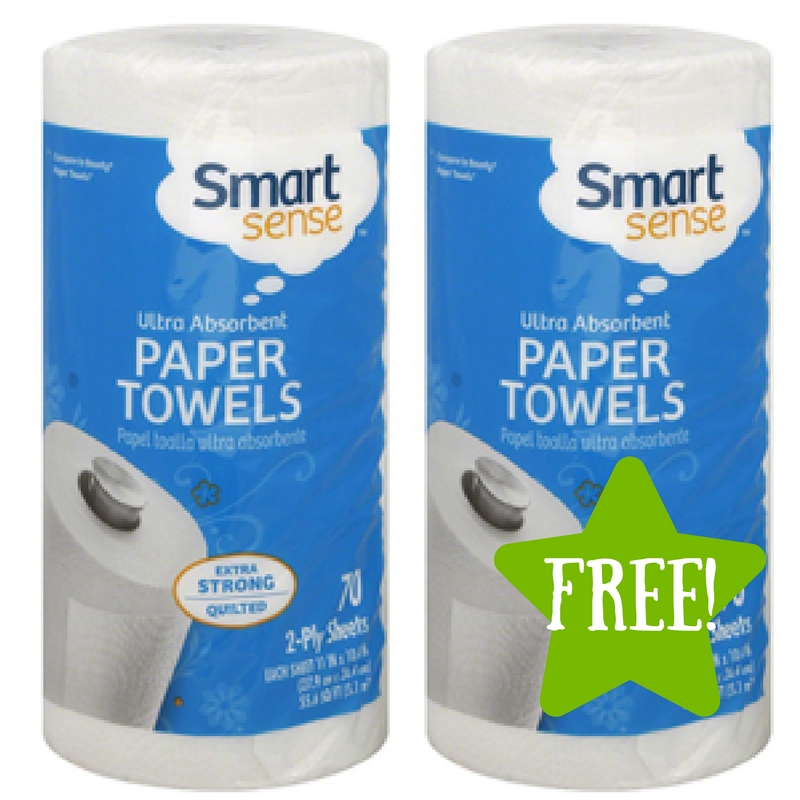 Kmart: FREE Smart Sense Ultra Absorbent Paper Towels (12/2-12/4) LOAD TODAY