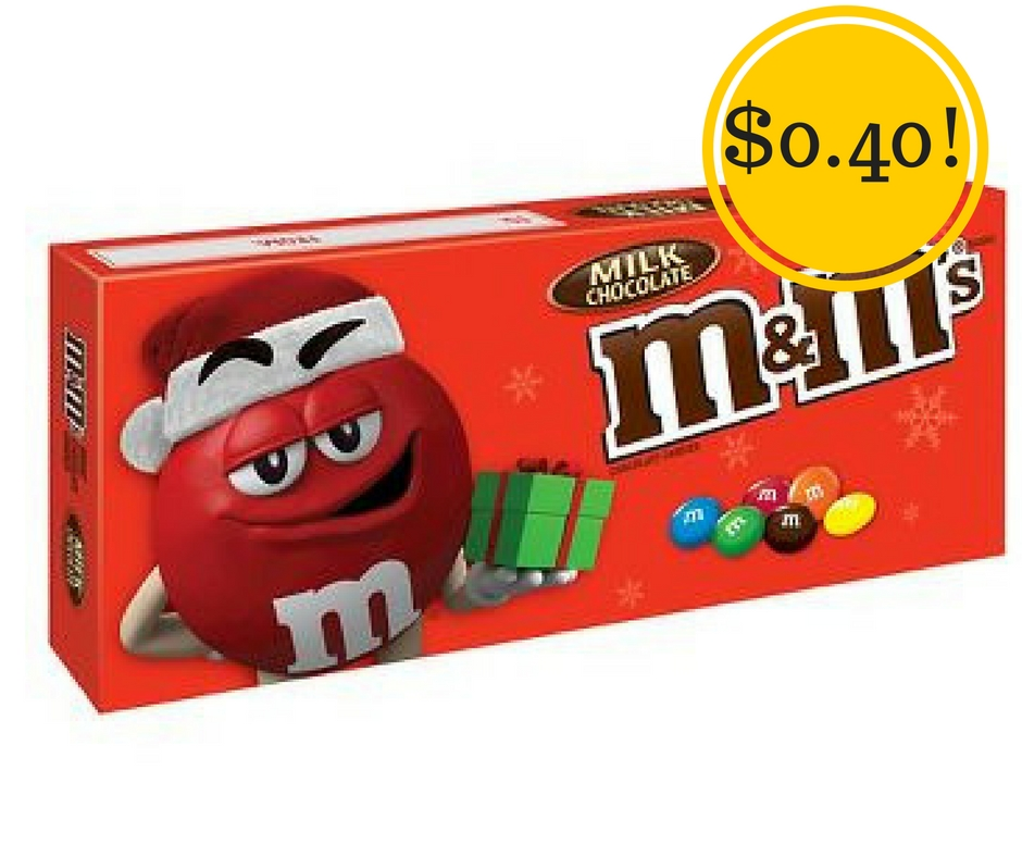 Target: M&Ms Holiday Theater Boxes Only $0.40
