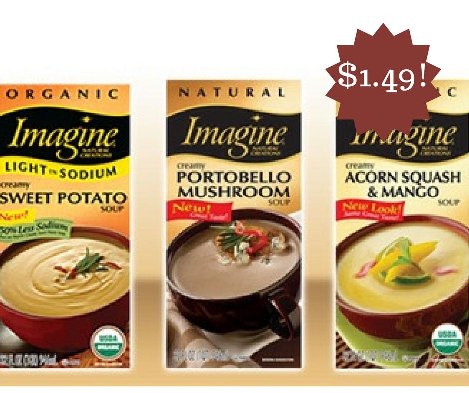 Wegmans: Imagine Organic Soups Only $1.49