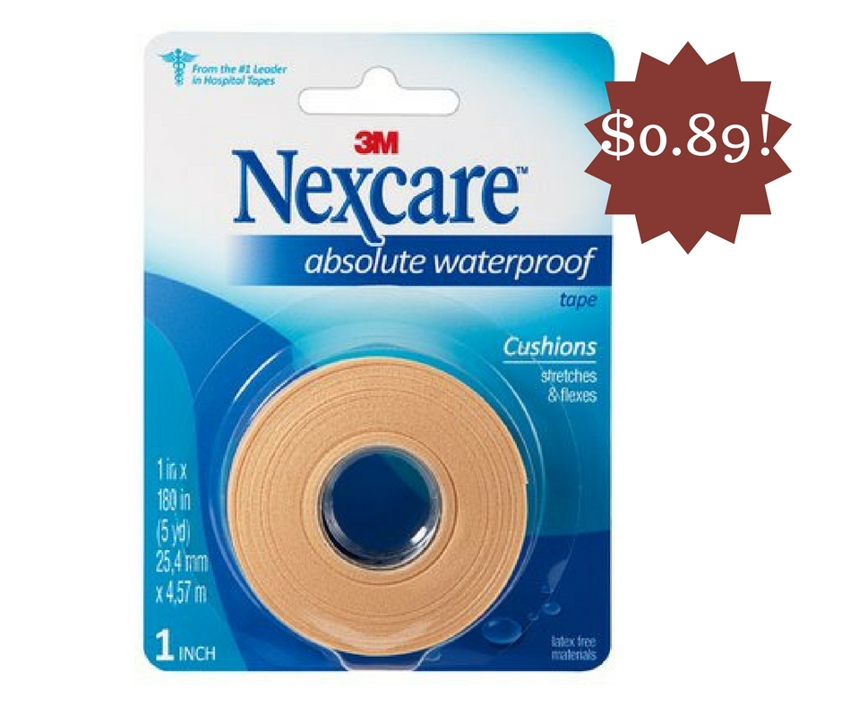 Wegmans: Nexcare Tape Only $0.89