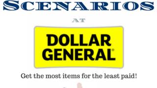 Dollar General Coupon Scenario