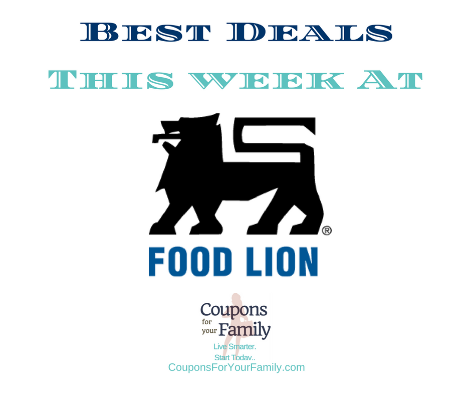 Food Lion Weekly Ad Deals & Coupons 7/12-7/18:  $0.40 Nabisco Snack Crackers, $1.45 Snyder's Pretzels, $0.83 Betty Crocker Fruit Snacks & more