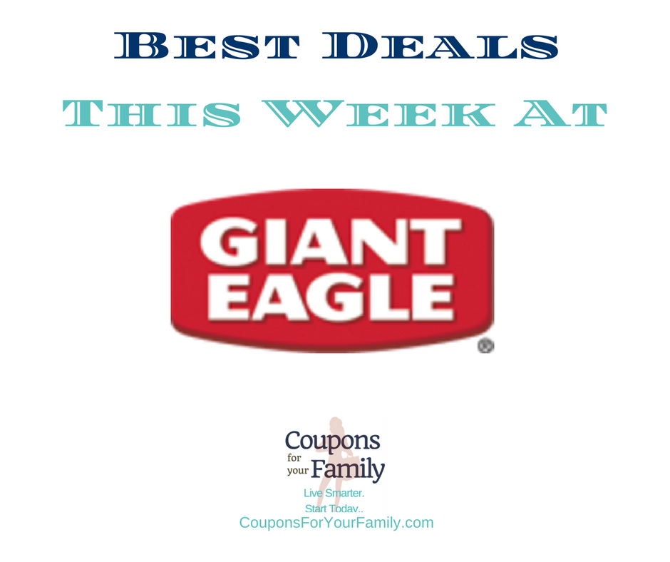 Giant Eagle Weekly Ad Coupons & Deals 2/16-2/22:  FREE VO5 Shampoo, $0.99 Kraft Dressing, $1.50 Kellogg's Cereal & more