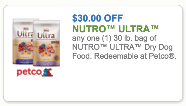 Coupons for performatrin ultra dog food