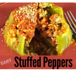 Easy Stuffed Bell Pepper