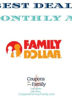 family dollar monthly