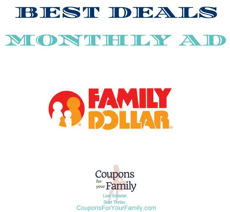 Family Dollar Monthly Coupon Deals 3/7-3/28:  $2.97 Bic Soleil Razor, $1.32 LA Looks Gel, $4.27 Shea Moisture Hair Care & more