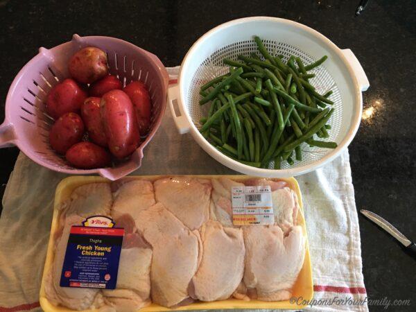 Baked Chicken Thigh Recipe Ingredients