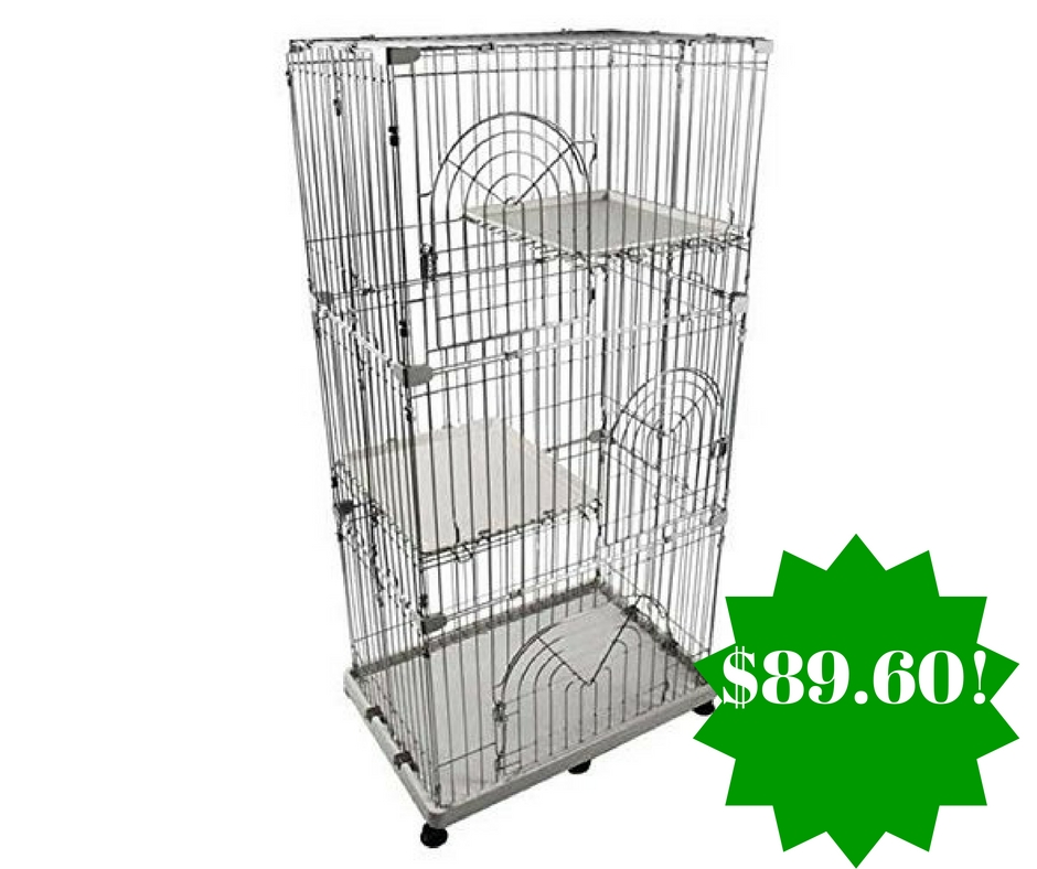 Amazon: IRIS Wire Pet Cage Only $89.60 Shipped