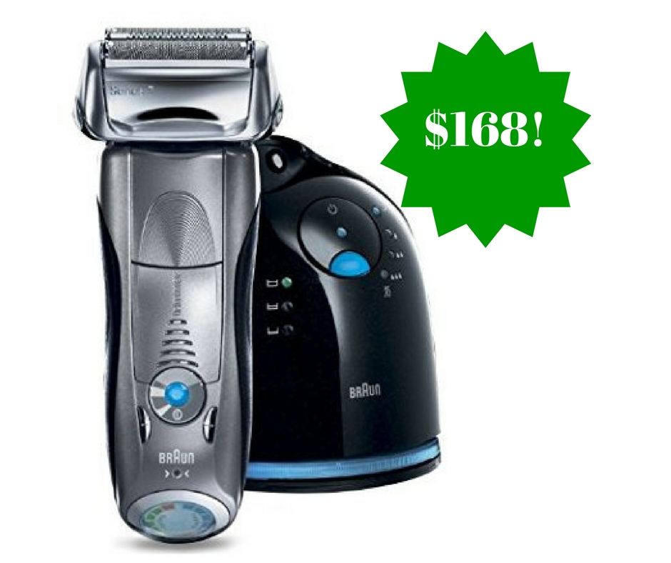 Amazon: Braun Series 7 790cc Cordless Electric Foil Shaver Only $168 Shipped (Reg. $290)