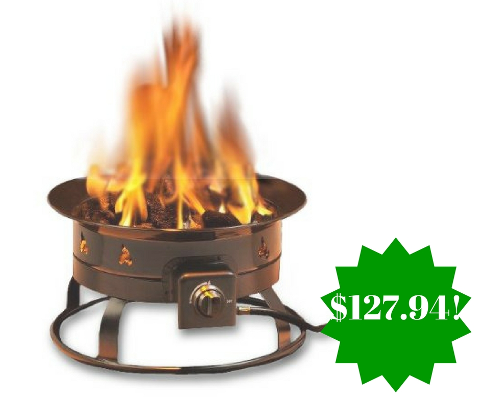 Amazon: Heininger Propane Outdoor Fire Pit Only $127.94 Shipped (Reg. $150)