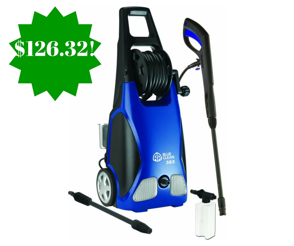 Amazon: AR Blue Clean 1,900 PSI Electric Pressure Washer Only $126.32 Shipped (Reg. $199)