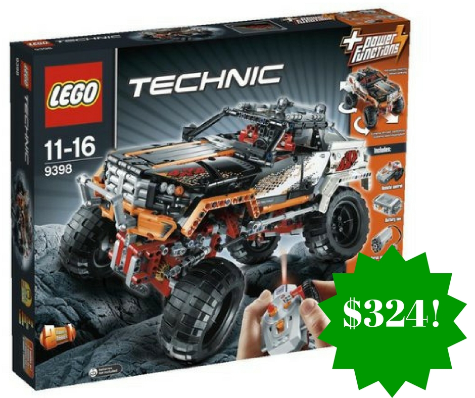 Amazon Lego Technic 9398 4 X 4 Crawler Only 324 Shipped
