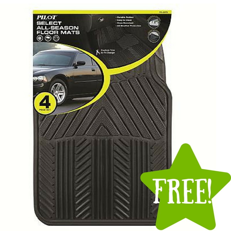 Sears: FREE Pilot Automotive All Season 4 pc. Rubber Floor Mat Set After Points