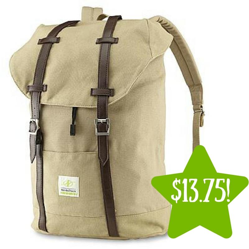 Sears: NordicTrack Men's Canvas Traveler Backpack Only $13.75 (Reg. $55)
