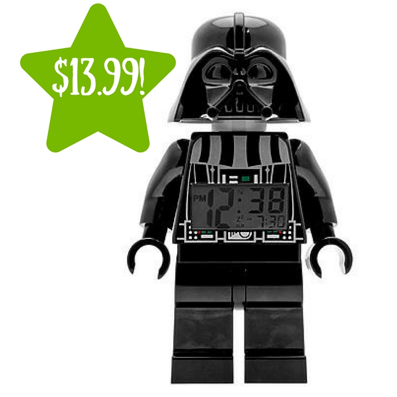 Sears: Darth Vader Minifigure Alarm Clock Only $13.99 (Reg. $35)