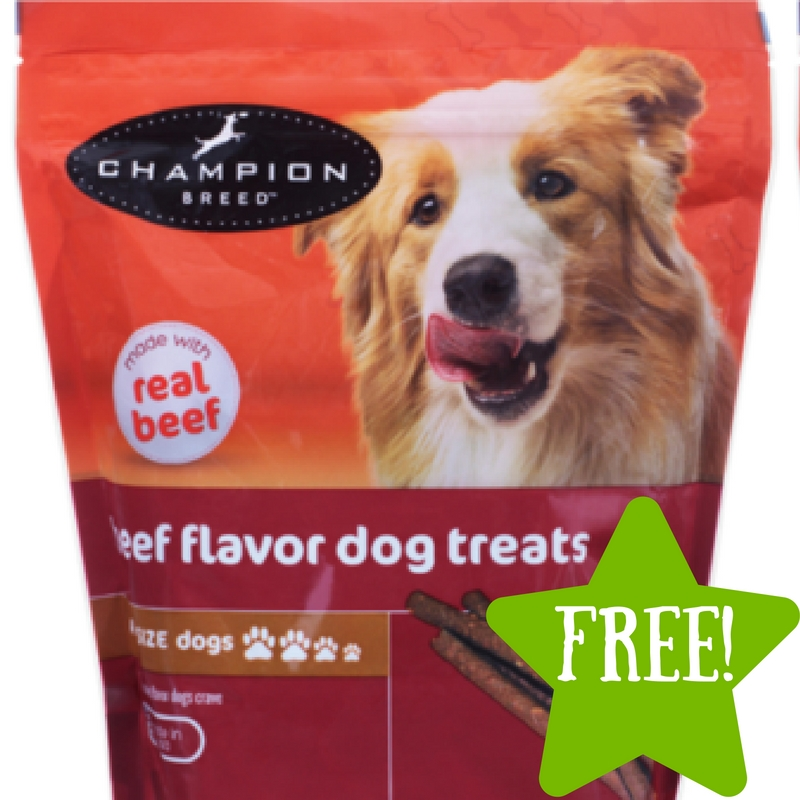 Kmart: FREE Champion Breed Dog Treats (3/10-3/12) LOAD TODAY