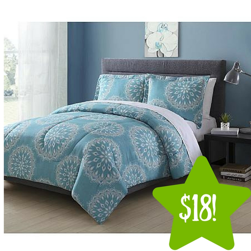 Sears: Colormate Microfiber Comforter Set Only $18 (Reg. $40)