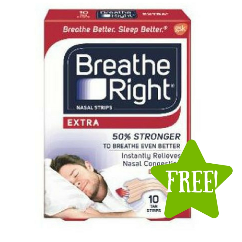 Dollar Tree: FREE Breathe Right Nasal Strips