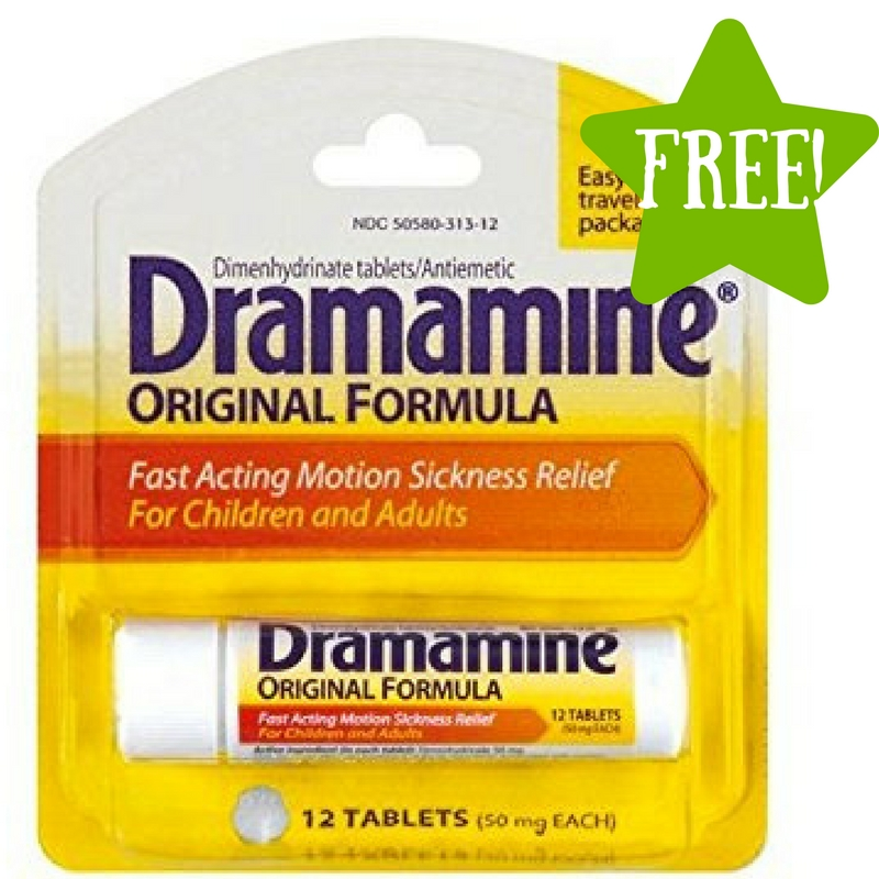 Dollar Tree: FREE Dramamine