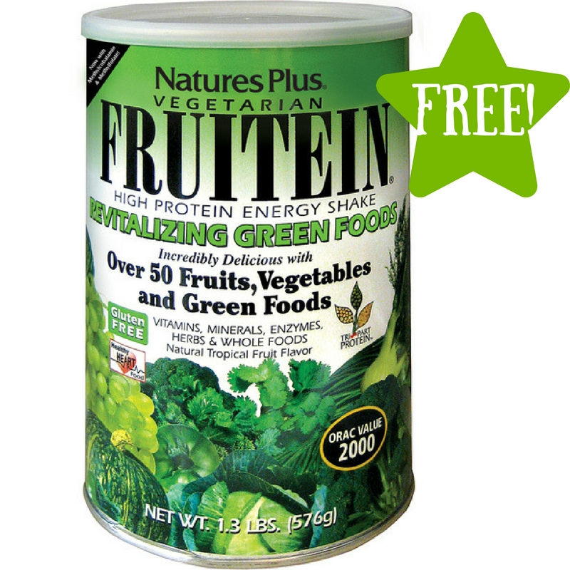 FREE FRUITEIN Revitalizing Green Foods Shake Sample