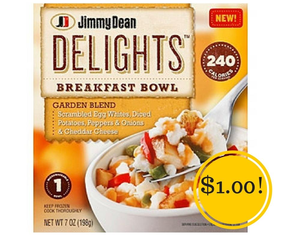 Target: Jimmy Dean Delights Breakfast Bowls Only $1.00