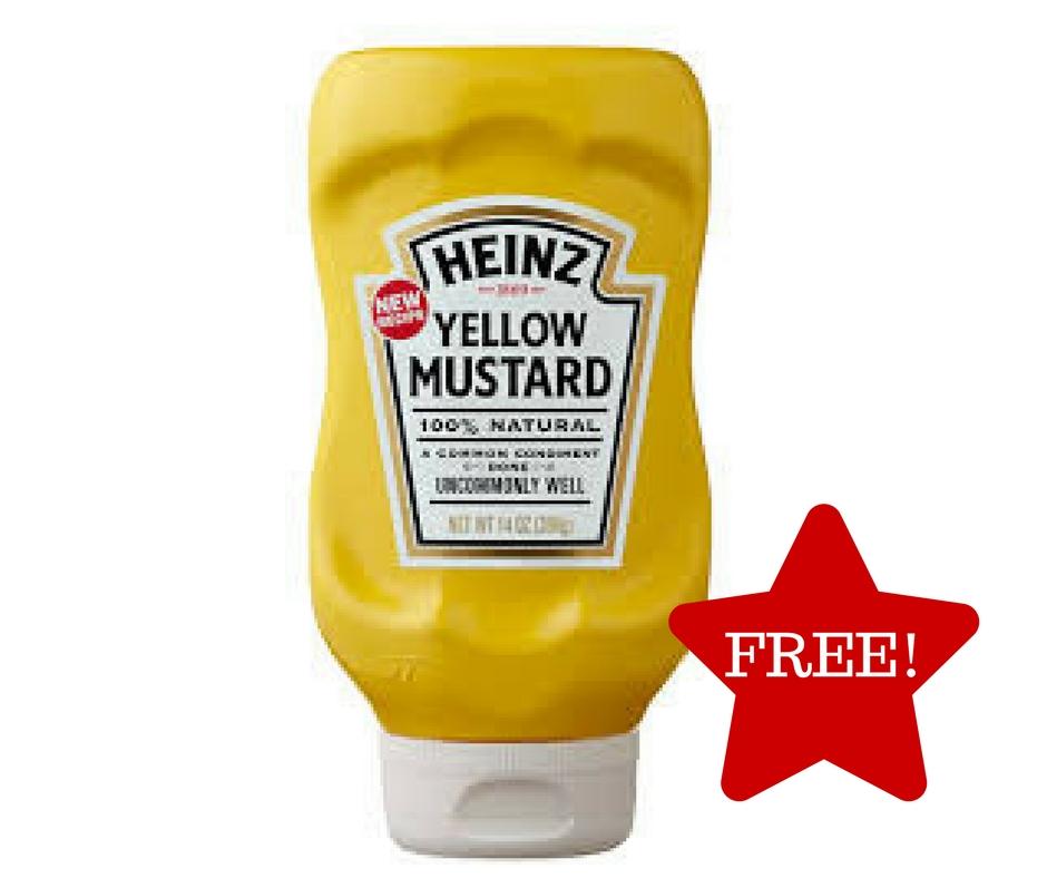 Tops: FREE Heinz Yellow Mustard