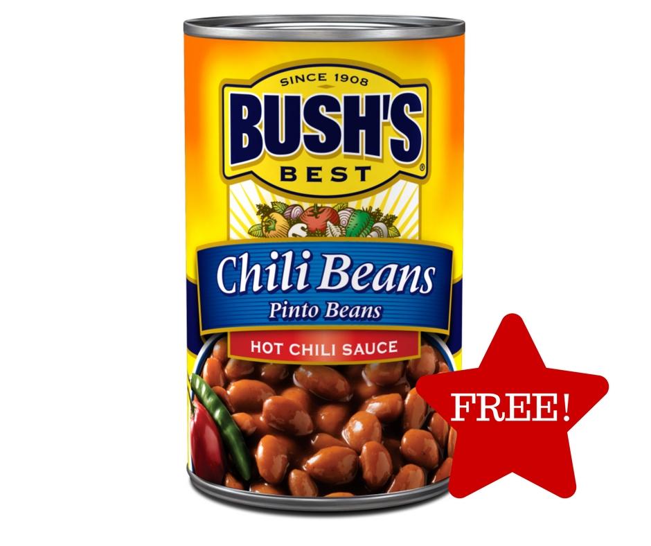 Tops: FREE Bush's Chili Beans