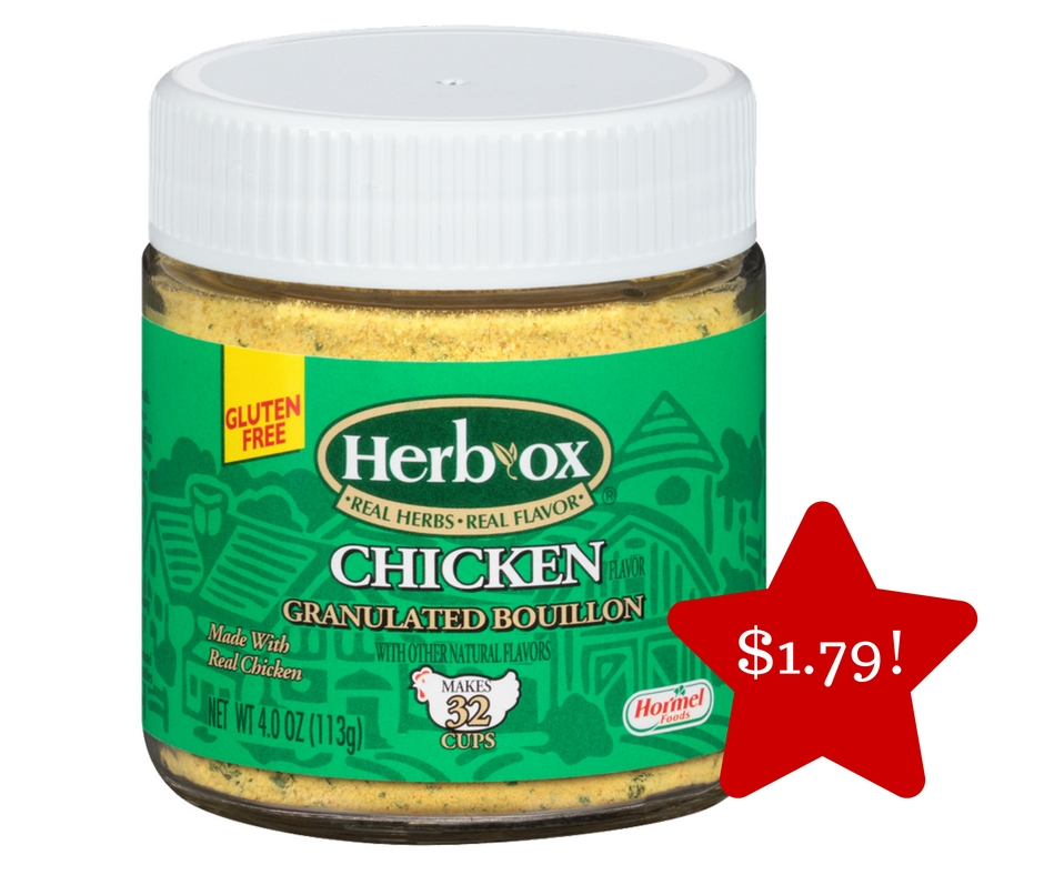 Tops: Herb-Ox Bouillon Granules Only $1.79