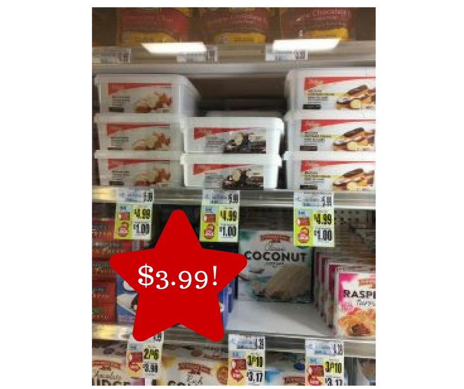 Tops: Delizza Cream Puffs Only $3.99