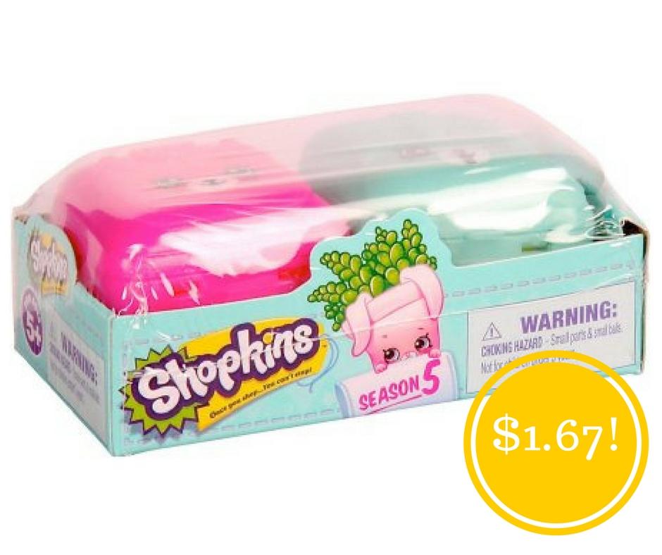 Walmart: Shopkins 2pk, Season 5 Only $1.67 (Reg. $3)