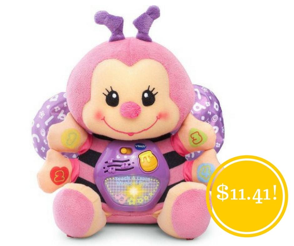 Walmart: Vtech Touch & Learn Musical Bee Only $11.41 (Reg. $34)