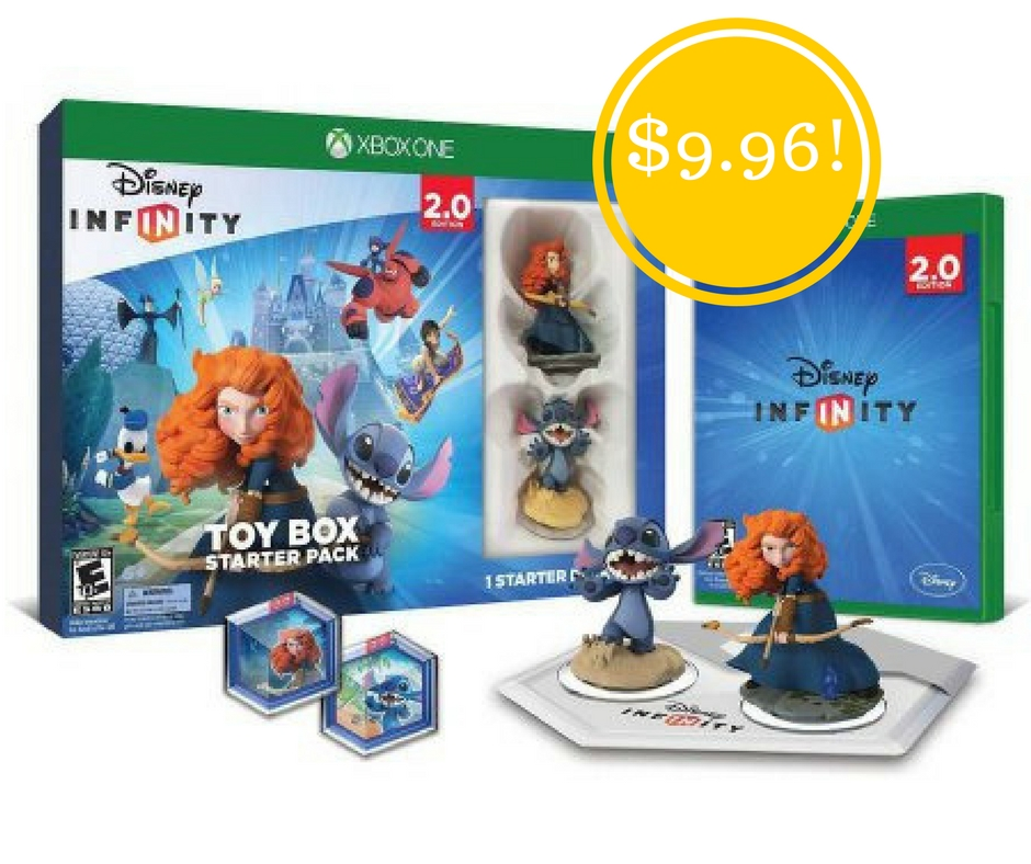 Walmart: Disney Infinity: Disney Originals (2.0 Edition) Toy Box Starter Pack (Xbox One) Only $9.96