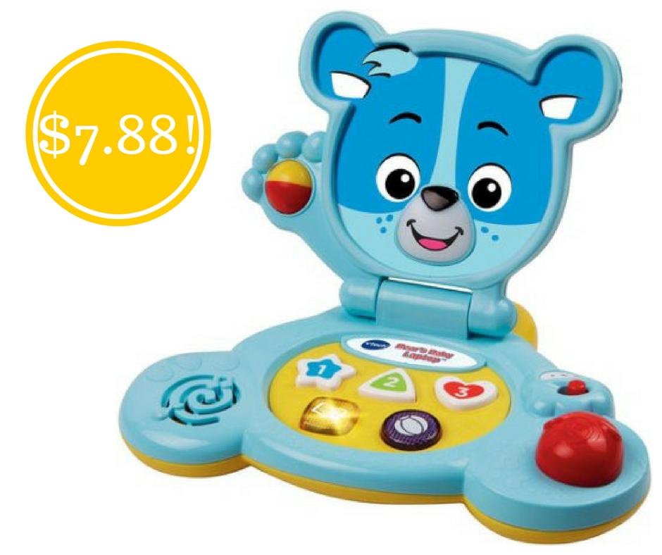 Walmart: VTech Bear's Baby Laptop Only $7.88 (Reg. $14)