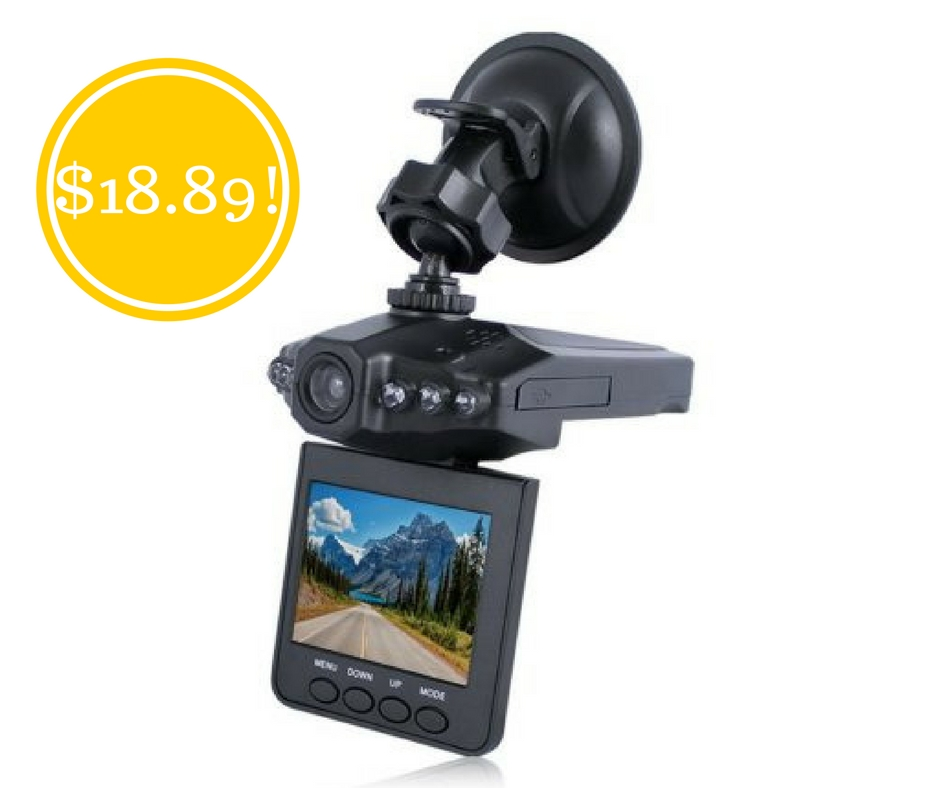 Walmart: Auto Vehicle Night Vision Dashcam Recorder Only $18.98 (Reg. $60)