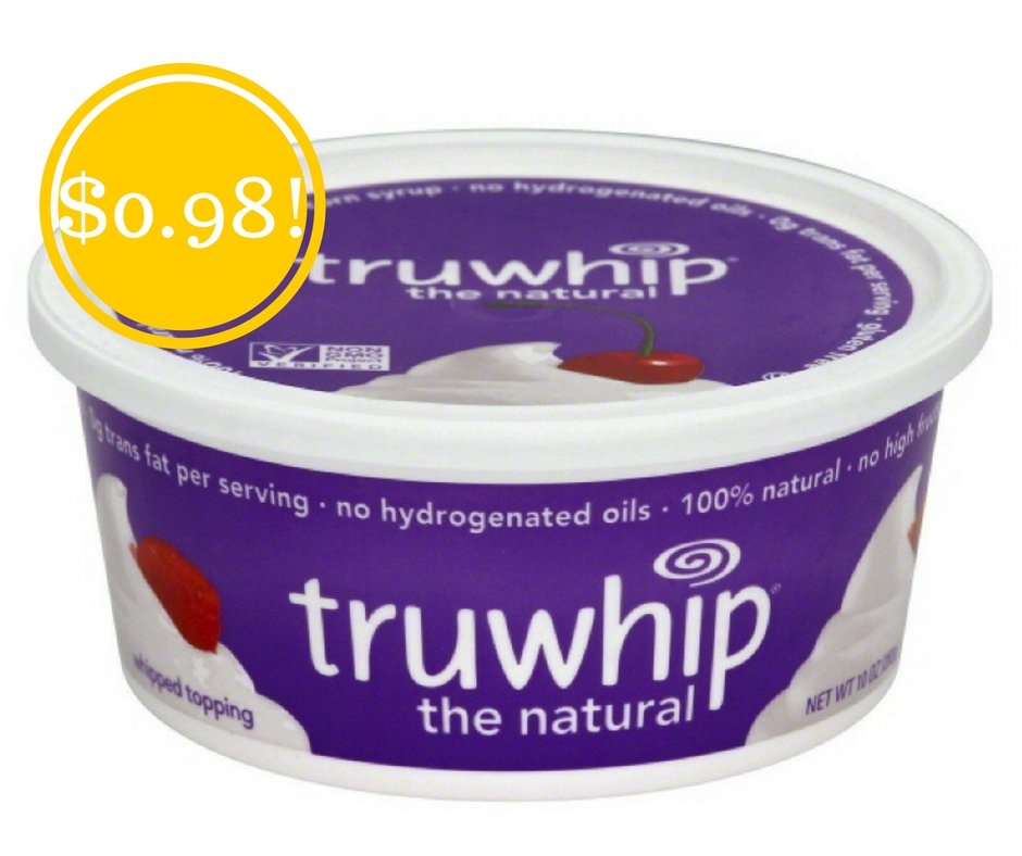 Walmart: Truwhip Whipped Topping Only $0.98