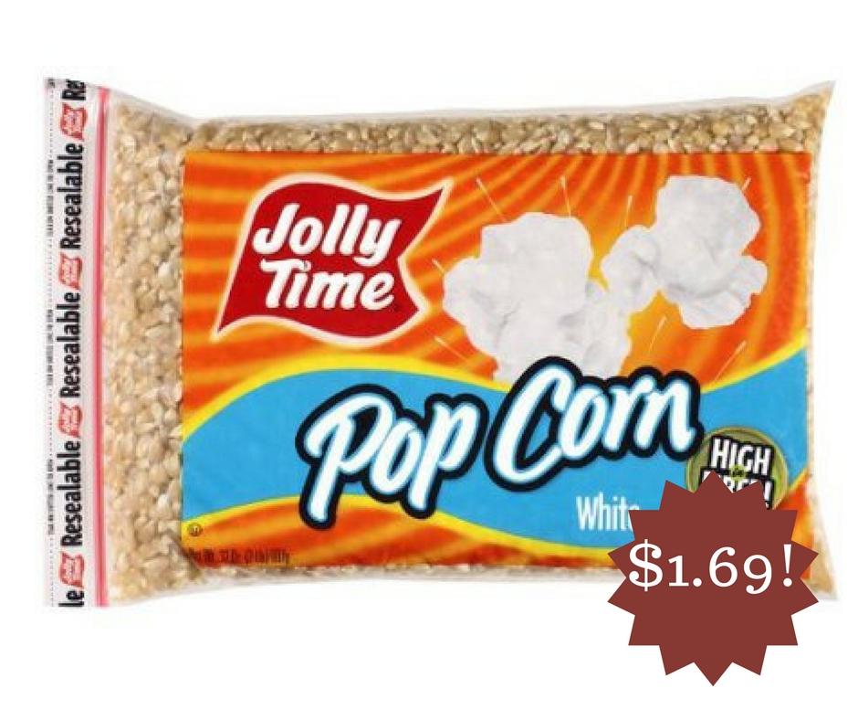 Wegmans: Jolly Time Pop Corn Kernels Only $1.69
