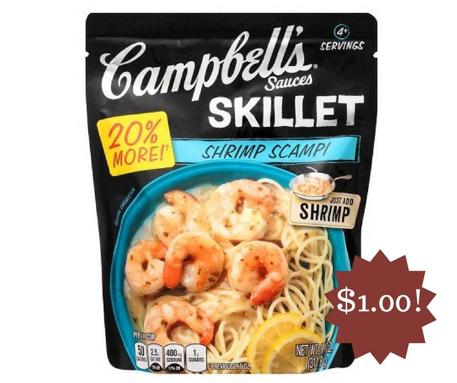Wegmans: Campbell's Skillet Sauces Only $1.00