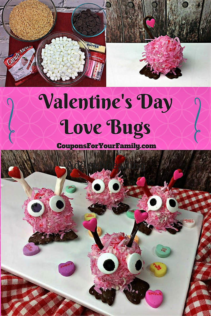 Valentines Day Love Bugs Cake Ball Recipe