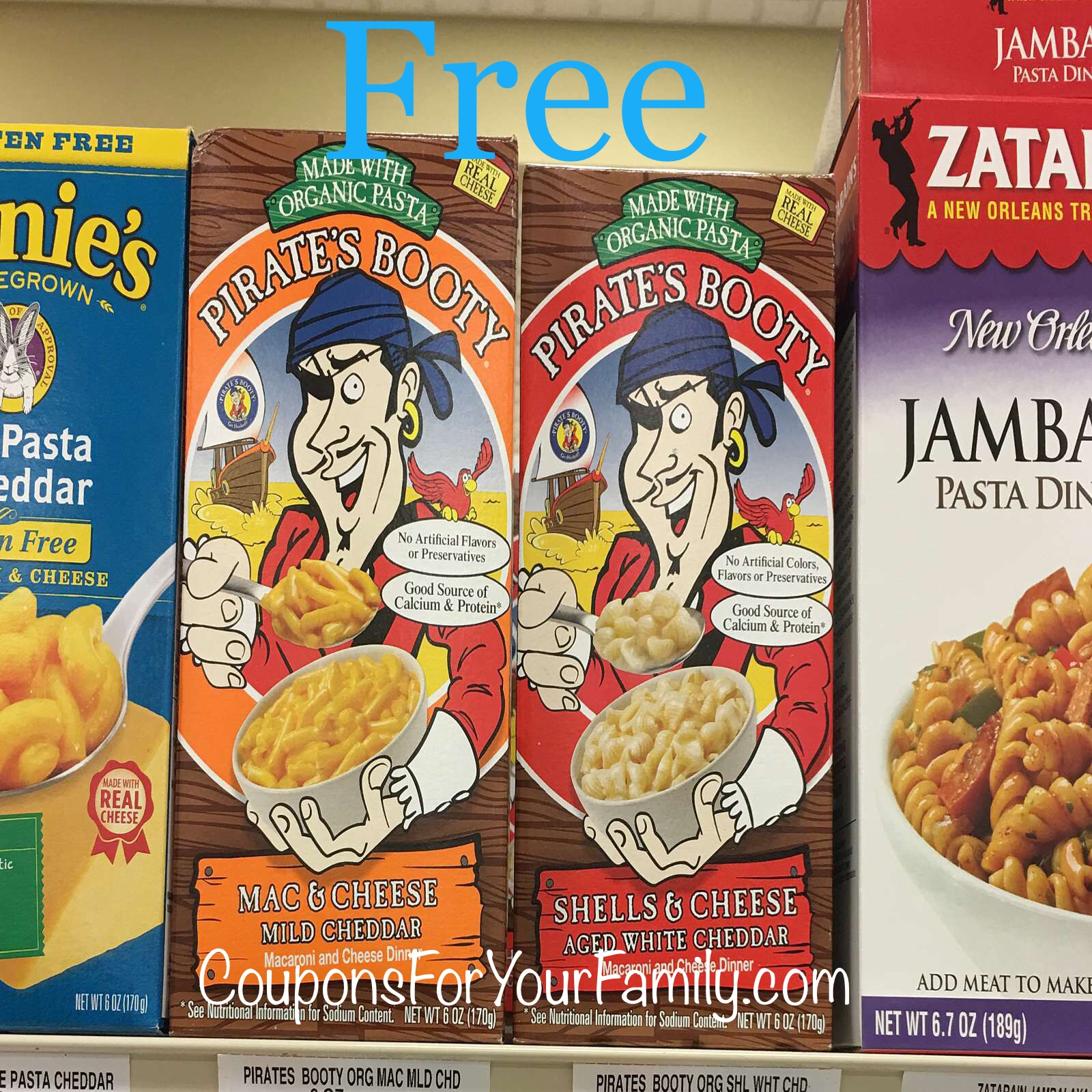 **HOT** Unadvertised Tops Coupon Deal Pirates Booty Mac & Cheese for FREE!!!