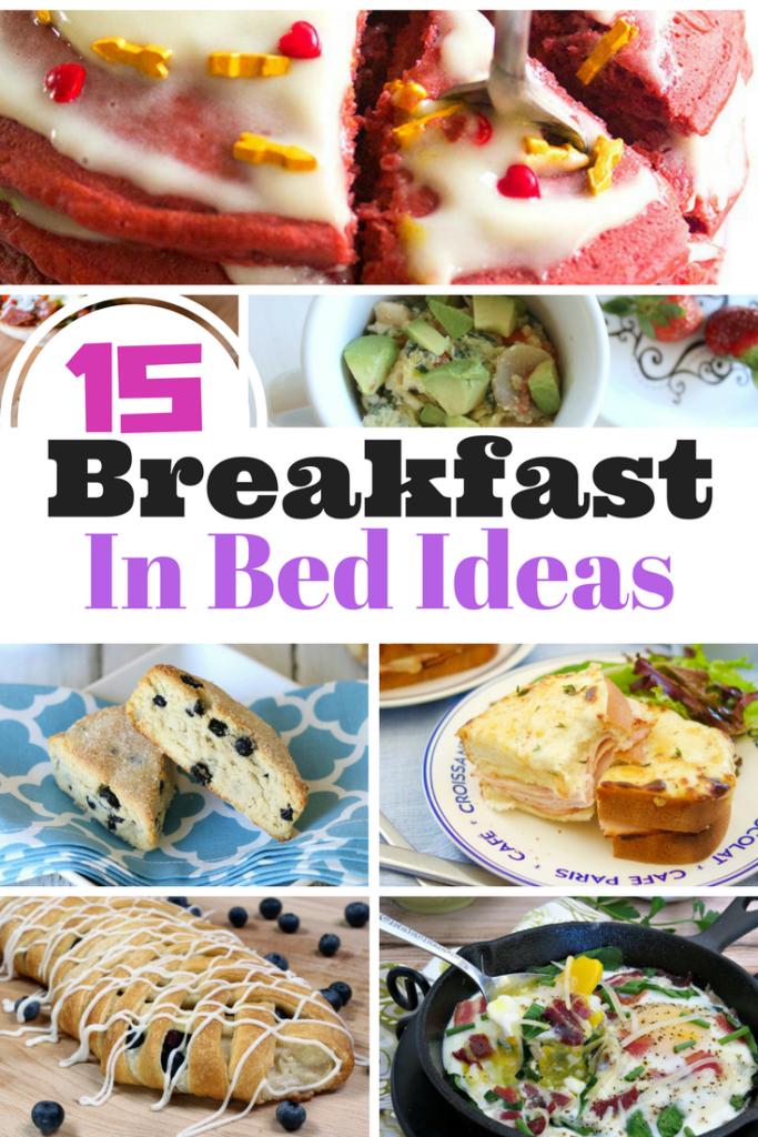 15 Breakfast In Bed Recipe Ideas