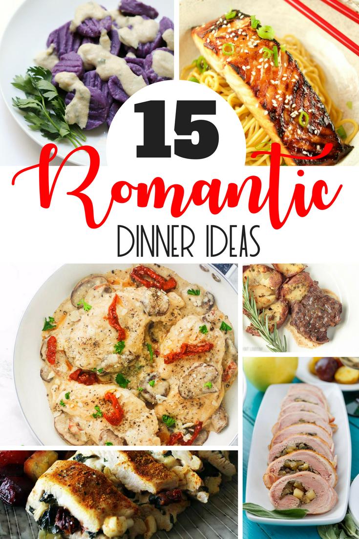 Romantic Dinner Ideas & Recipes