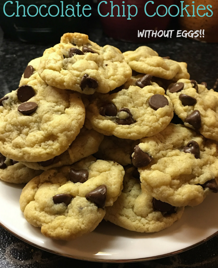 Ultimate Chocolate Chip Cookies without Eggs