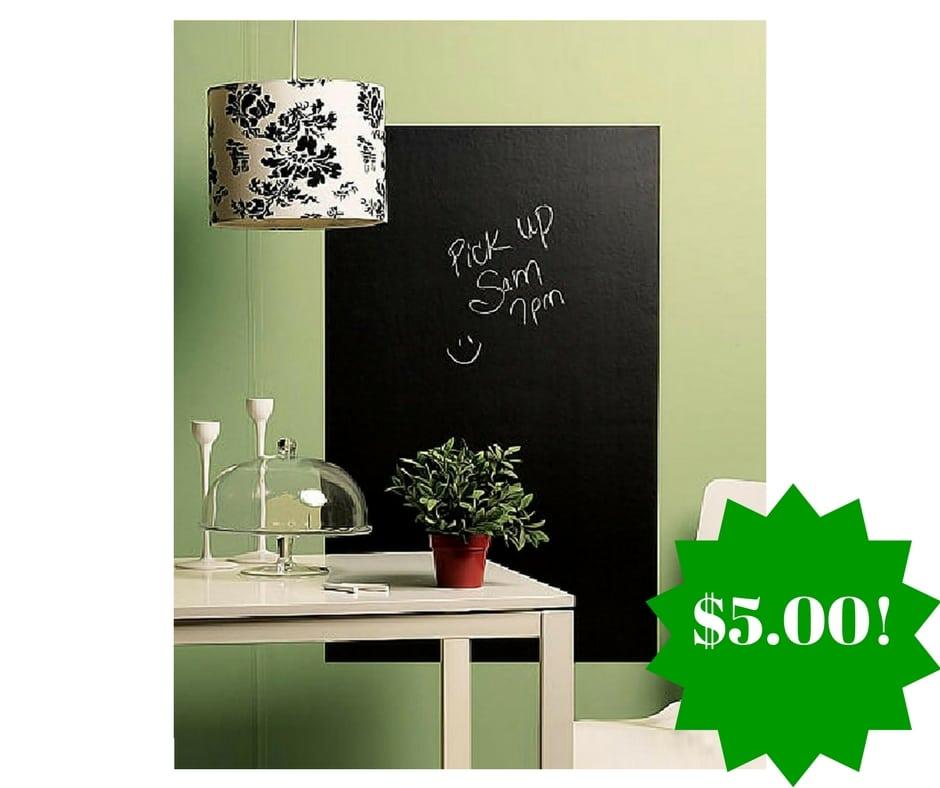 Amazon: Ohuhu Chalkboard Contact Paper Only $5.00 (Reg. $20)