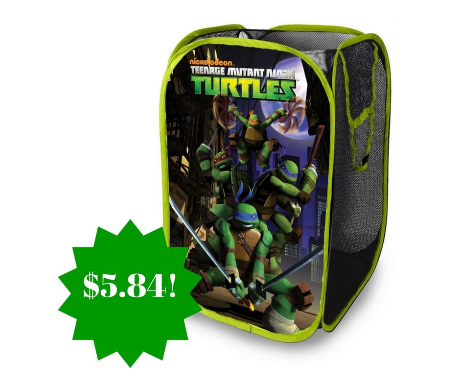 Amazon: Nickelodeon Teenage Mutant Ninja Turtles Pop Up Hamper Only $5.84