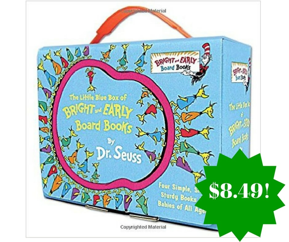 Amazon: The Little Blue Box of Bright and Early Board Books by Dr. Seuss Only $8.49 (Reg. $20)
