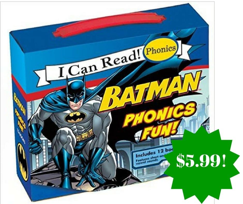 Amazon: Batman Classic: Batman Phonics Fun Only $5.99 (Reg. $13)