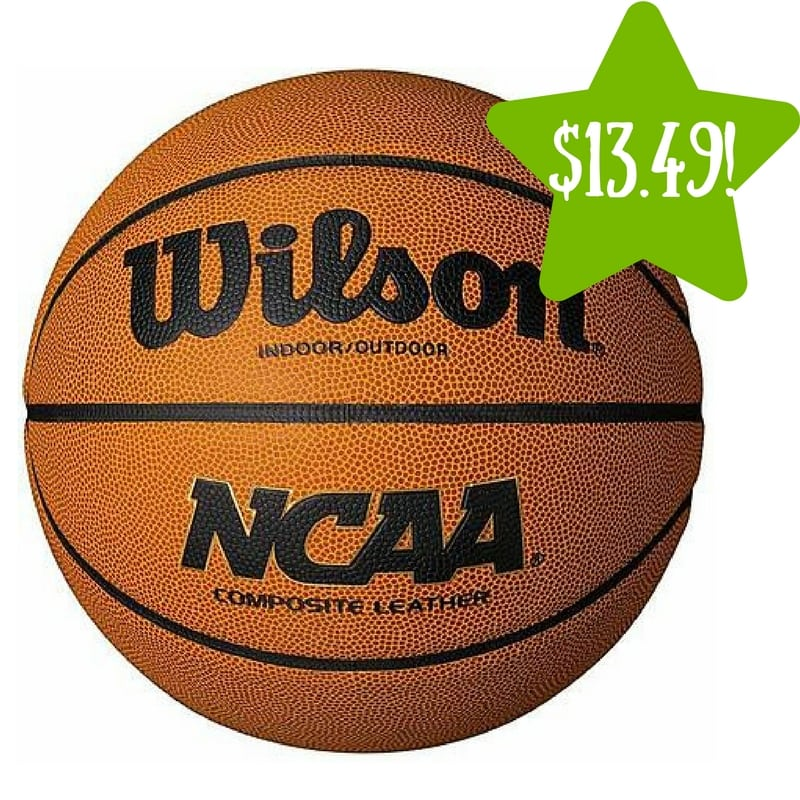 Kmart: Wilson NCAA Limited Edition Basketball Only $13.49 (Reg. $25)