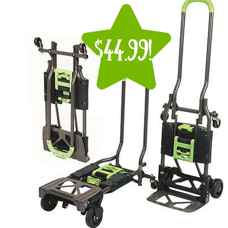 Kmart: Multi-Position Folding Hand Truck and Cart Only $44.99 (Reg. $70)